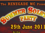 renegade summer solstice party 25.06.11
