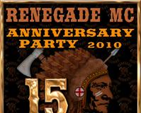 .RENEGADE MC 15TH Anniversary Party