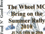 The Wheel MC Rally JUNE 2010