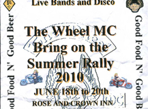 .The Wheel MC Rally JUNE 2010